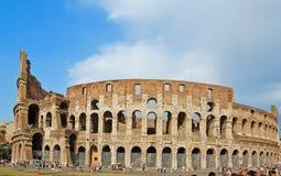 forntida colosseum berömda rome för amphitheater Arkivbild