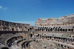 forntida colosseum italy rome Royaltyfri Bild