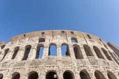 forntida colosseum rome Royaltyfri Foto