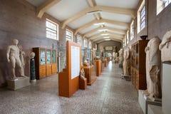 Forntida Corinth i Grekland Royaltyfria Bilder