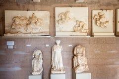 Forntida Corinth i Grekland Arkivfoton