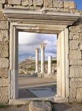 forntida crimea grekiska khersones fördärvar fotografering för bildbyråer