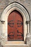 forntida dörröppning Arkivfoto