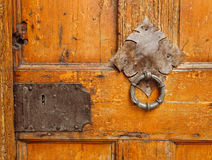 forntida dörr royaltyfri bild