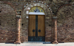 forntida dörr Arkivfoton