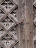 forntida dörr Arkivbild