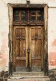 forntida dörr Fotografering för Bildbyråer