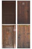 forntida dörrar Royaltyfria Bilder