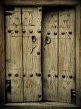 Forntida dörrar Arkivbild