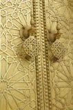 Forntida dörrar, Marocko Fotografering för Bildbyråer