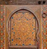Forntida dörrar, Marocko Arkivfoton