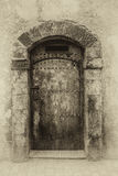 Forntida dörrar, Marocko Arkivbilder
