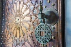 Forntida dörrar, Marocko Arkivfoto
