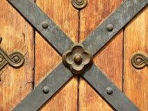 forntida dörrelement Arkivbild