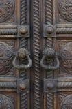 Forntida dörrlås Fotografering för Bildbyråer