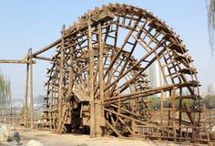 Forntida de Yellow River vattentankfartygen Arkivfoto