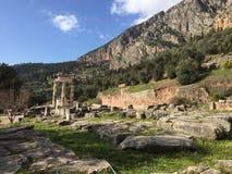 Forntida Delphi Royaltyfri Fotografi