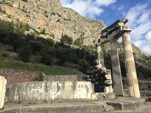 Forntida Delphi arkivfoton