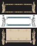 forntida designgrek royaltyfri illustrationer