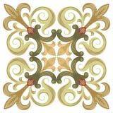 Forntida designmodell Arkivbild