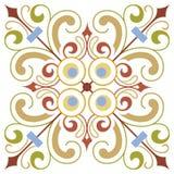 Forntida designmodell Arkivfoto