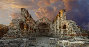 forntida domkyrka Arkivbild