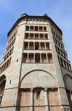 Forntida domkyrka av Parma Fotografering för Bildbyråer