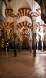 Forntida domkyrka (Mezquita) av Cordoba, Andalusia, Spanien arkivfoto