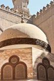 Forntida doom av den sultanhassan moskén Royaltyfri Fotografi