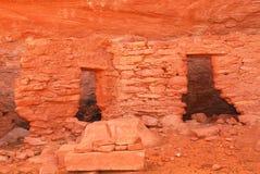 forntida dwellingnavajo för anasazi Fotografering för Bildbyråer