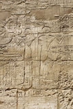 Forntida egypt avbildar och hieroglyphics Royaltyfria Bilder