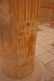 forntida egypt hieroglyphs Royaltyfri Foto