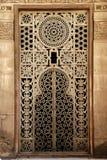 forntida egypt islamiskt gammalt prydnadfönster Royaltyfria Foton