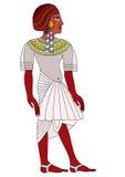 forntida egypt kvinna stock illustrationer