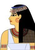forntida egypt kvinna royaltyfri illustrationer