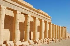 forntida egypt tempel Royaltyfria Foton