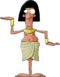 forntida egyptier royaltyfri illustrationer