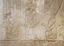 Forntida egyptier Art Sunk royaltyfri bild