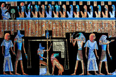 forntida egyptisk papyrus Royaltyfria Bilder
