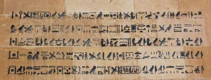 Forntida egyptisk pharaonic konst Royaltyfri Bild