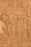 forntida egyptisk royalty Fotografering för Bildbyråer