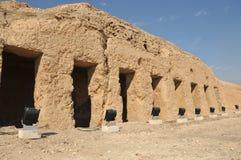 forntida egyptisk tomb Royaltyfri Bild