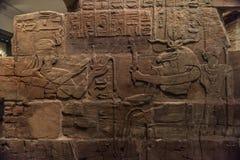 forntida egyptiska hieroglyphics Royaltyfri Fotografi