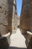 forntida egyptiska luxor fördärvar Arkivbilder
