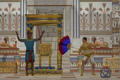Forntida egyptiska män vektor illustrationer