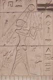 Forntida egyptiska målningar Arkivfoton