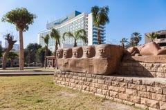 Forntida egyptiska monument Royaltyfri Bild