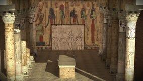 forntida egyptiskt tempel royaltyfri fotografi