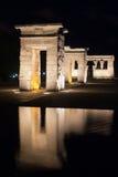 Tempel av Debod Royaltyfria Bilder