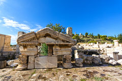 Forntida Eleusis Arkivbild